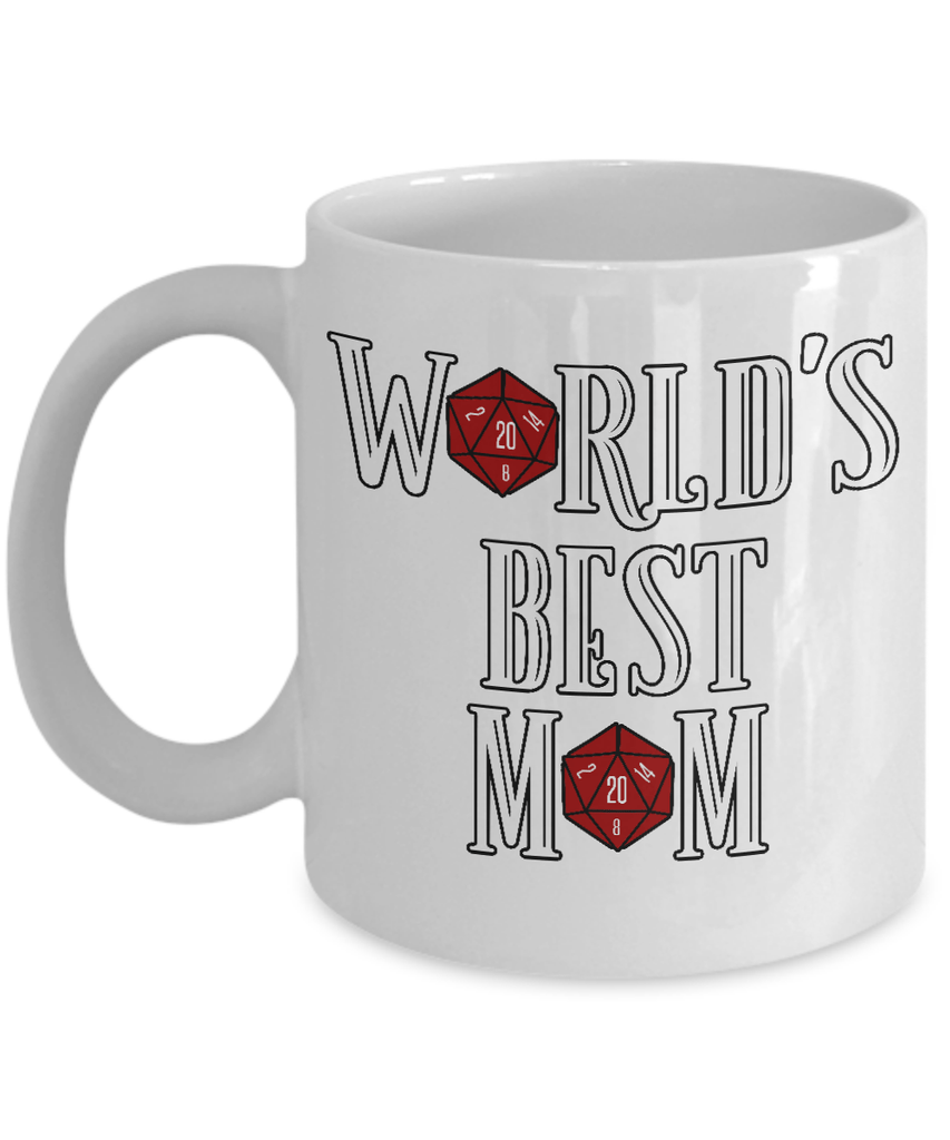 Coffee Mug - Worlds Best Mom RPG Coffee Mug