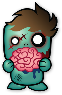 Zombie Sticker - Cute Zombie Sticker
