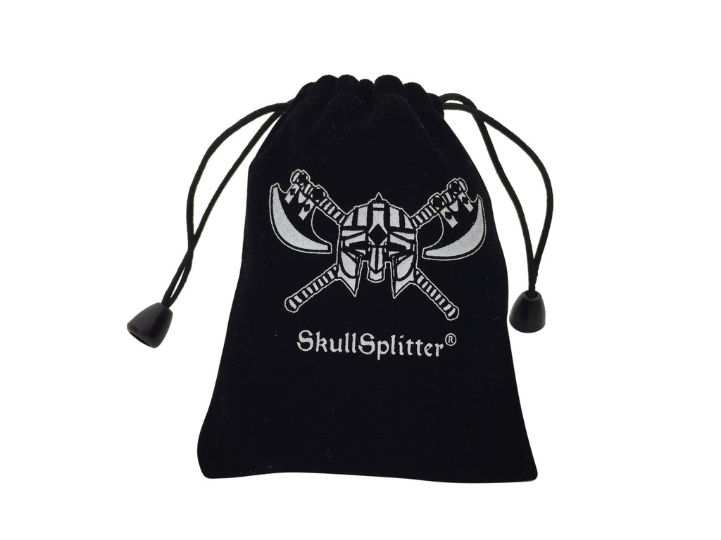 Dice Bags - Small SkullSplitter Velvet Bag Five Pack