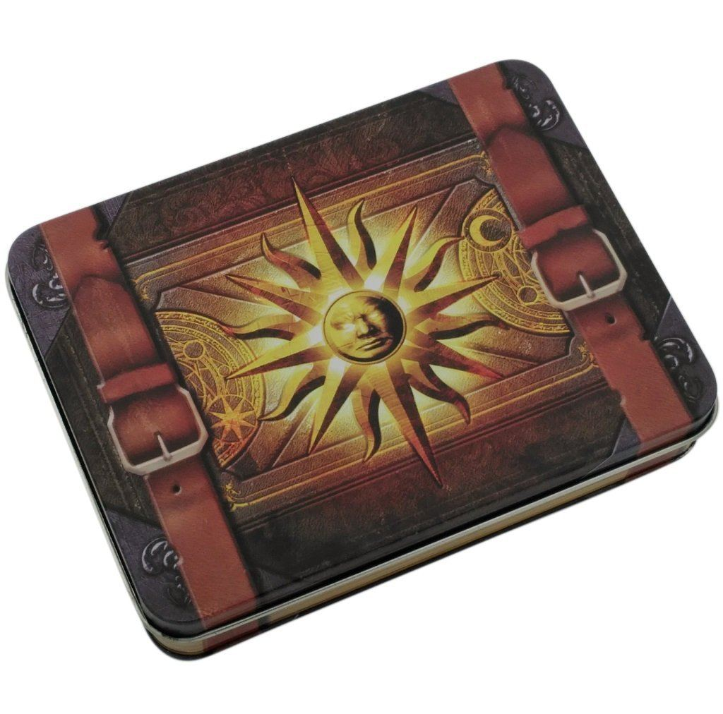 Cleric's Prayer Book Metal Dice Case