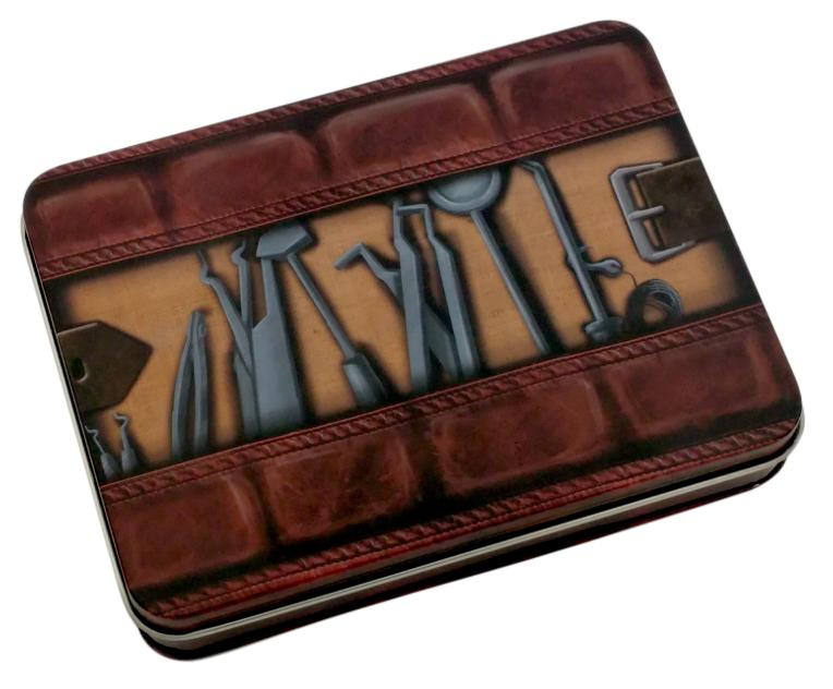 Thieves' Tools Metal Dice Case