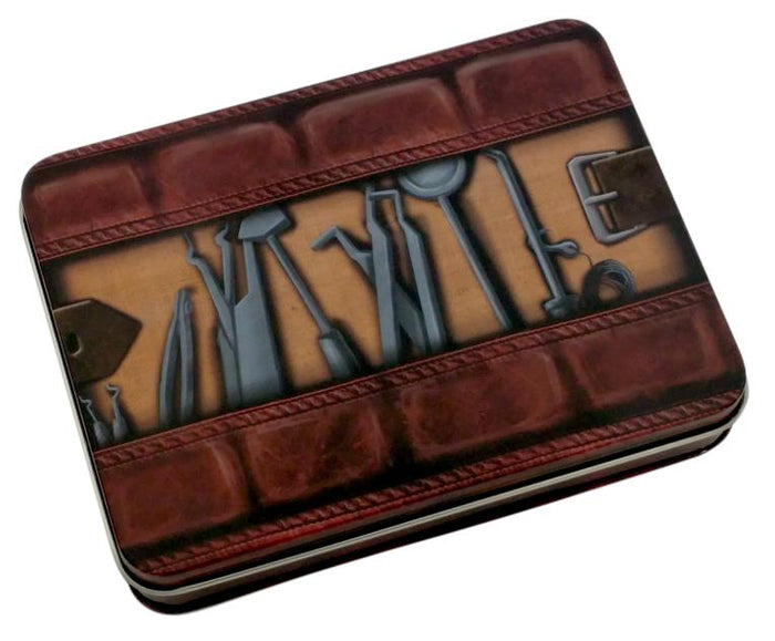Metal Dice - Thieves' Tools Metal Dice Case