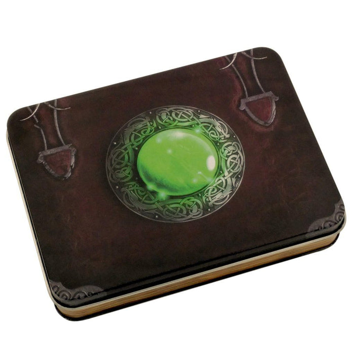 Metal Dice - Wizard's Grimoire Metal Dice Case