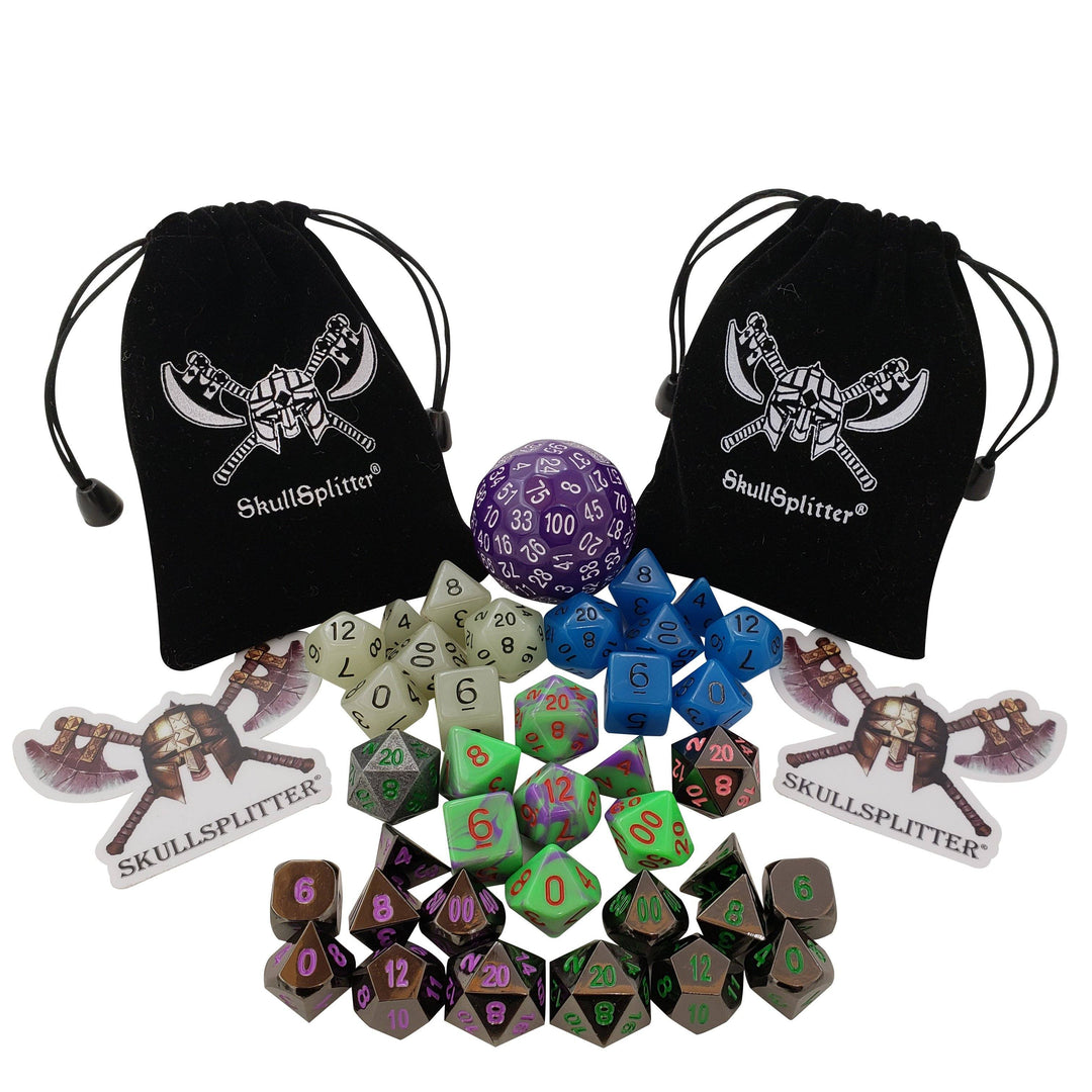 The UnderDark Dice RPG Dice Set Bundle