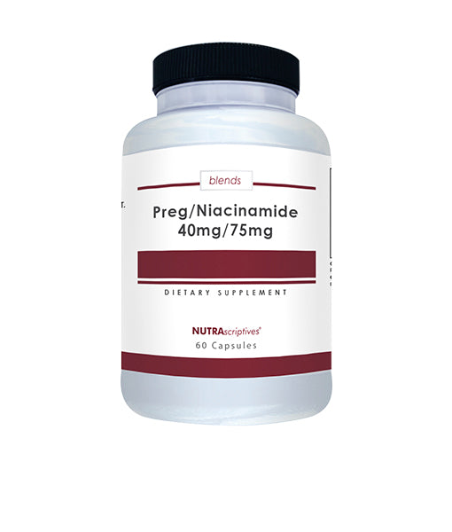 Preg/Niacinamide 40mg/75mg - Ships from a different location (USPS Only)