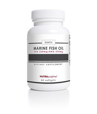 Marine Fish Oil (EPA/DHA) 1000 mg (360mg/270mg)