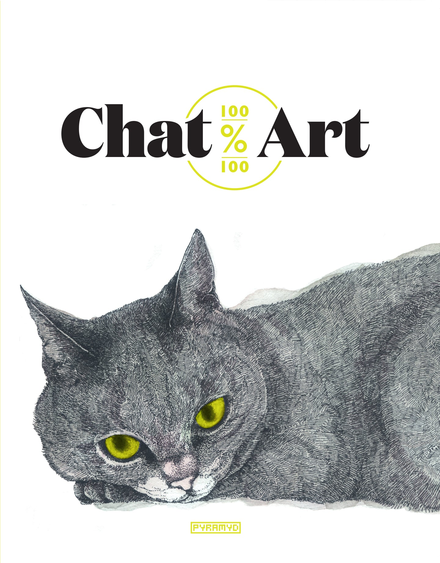 100% Chat 100% Art - Éditions Pyramyd