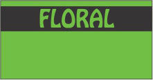 Floral Monarch Labels - Monarch 1110 Series