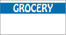 Grocery Monarch Labels - Monarch 1110 Series