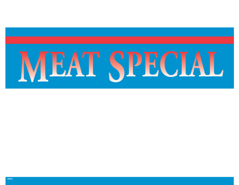 Meat Special - #20014