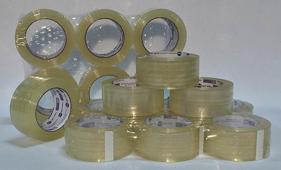 "Packaging Tape - 6 Pack - 2"" Wide Rolls"