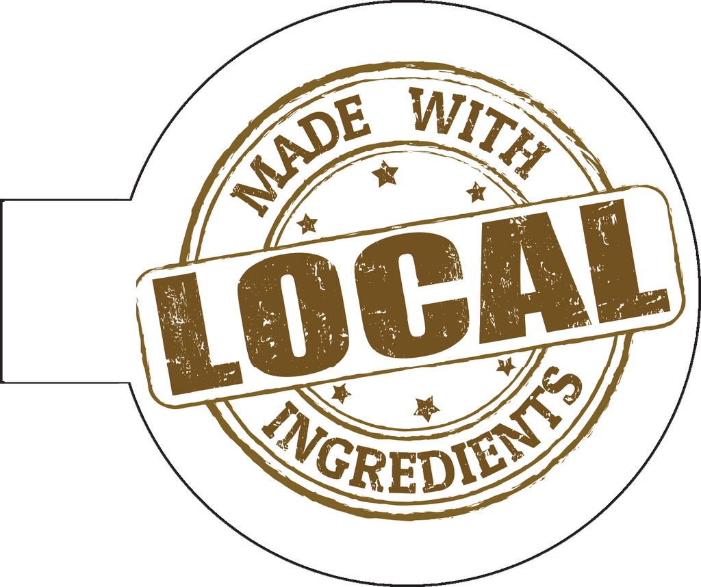 Local Ingredients Shelf Talker Sign - 50 pk