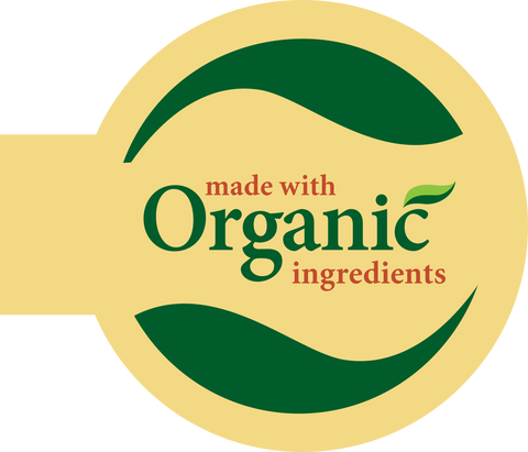Made With Organic Ingredients Shelf Talker