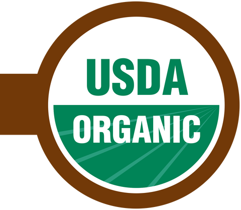 USDA Organic Shelf Talker Sign - 50 pk
