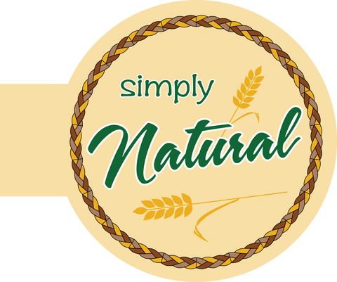 Simply Natural Shelf Talker