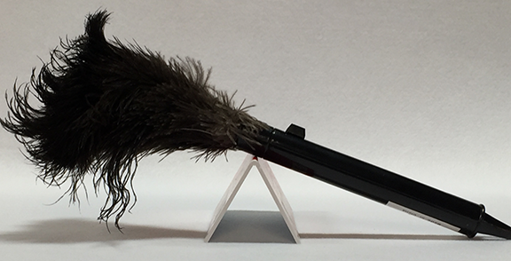 Retractible Feather Duster