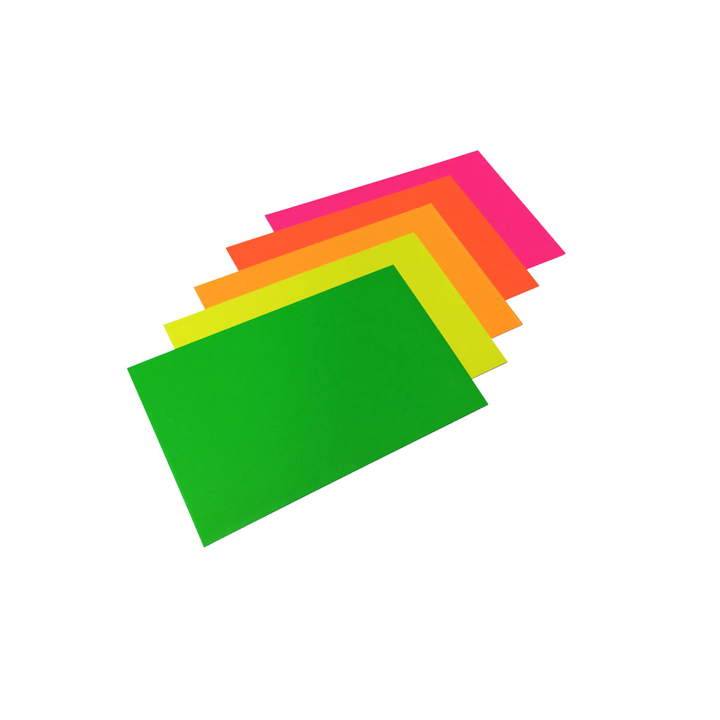 "Fluorescent Card Stock - 11"" x 14"" - 50 Pack"