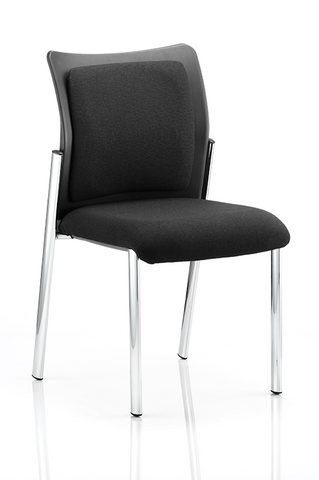 Academy Visitor Chair Black - Office Chairs 2 Go - 1
