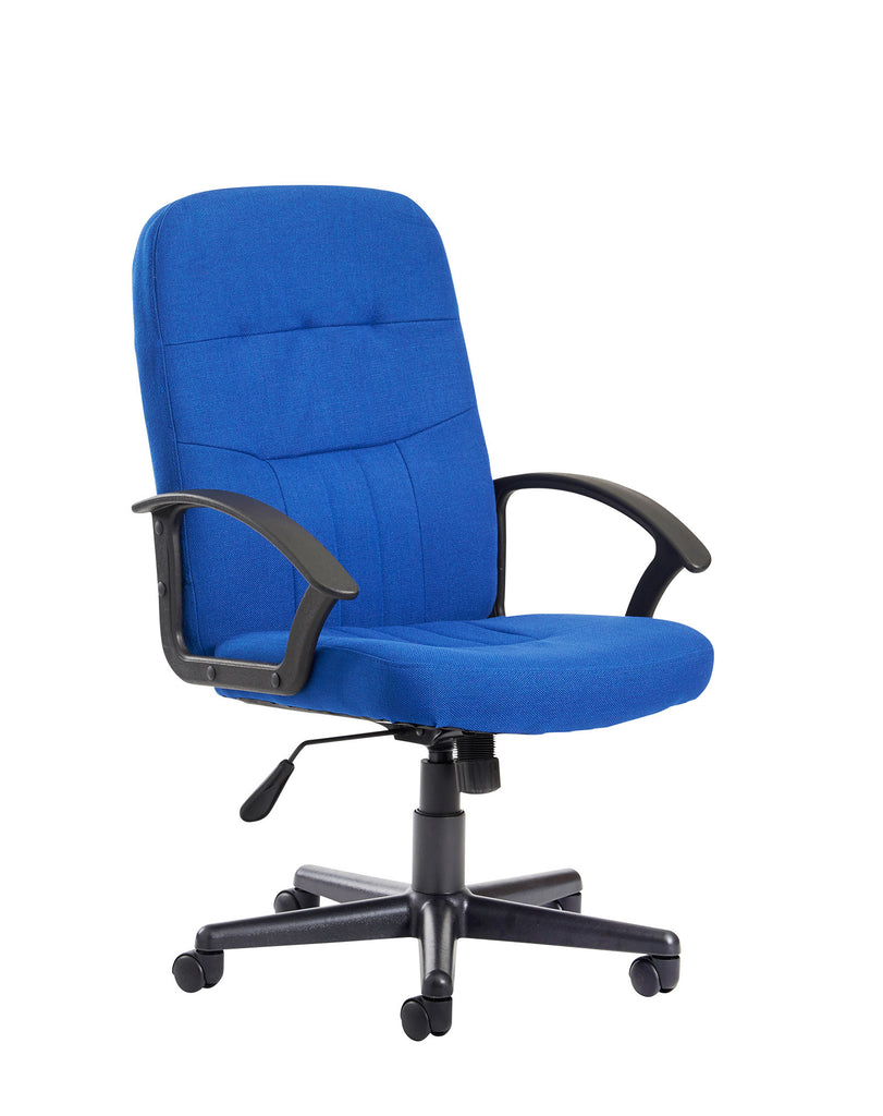 Cavalier Managers Chair | Fabric | Blue or Charcoal