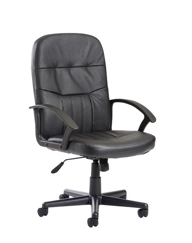 Sale Cavalier Managers Chair | Black Leather