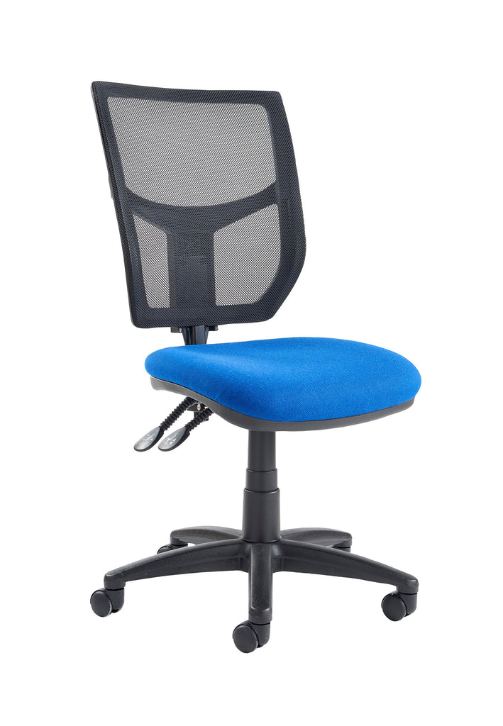 Altino High Back Operator Chair | Charcoal or Blue | Choice of Arms