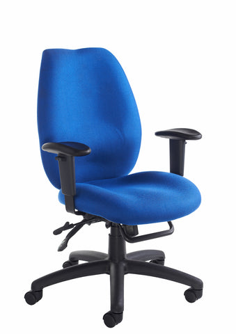 Cornwall Multi Functional Operator Chair | Black or Blue