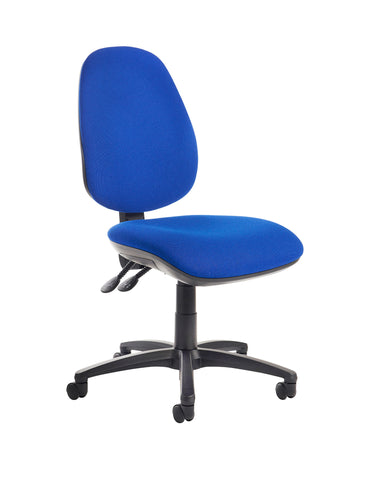 Jota High Back Operator Chair | Blue or Charcoal | Choice of Arms