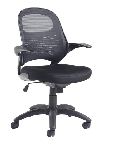 Orion Mesh Back Operators Chair | Black