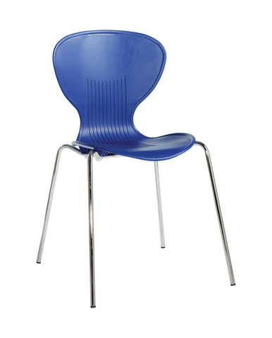 Sienna One Piece Shell Chair | Variety of Colours | Box of 4