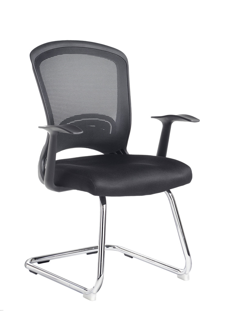 Solaris Mesh Visitor Chair | Black