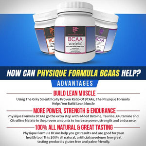 BCAAS Without Artificial Sweeteners