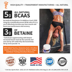 Physique Formula BCAAS FAQS