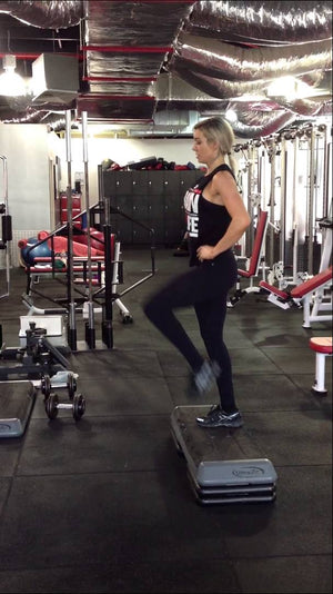 Drop Lunges For Tighter Glutes