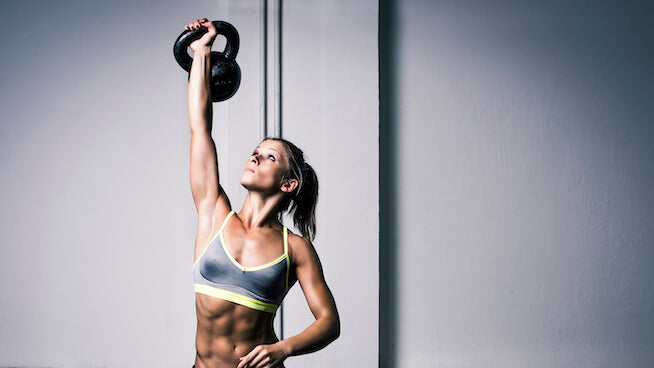 kettlebell shoulder workouts crossfit