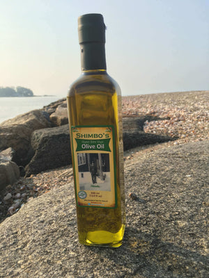 Shimbo's Organic Extra Virgin Olive Oil: NON GMO California Organic EVOO,Cold Pressed Gourmet & Specaility Olive OIl. Perfect For Vegans, Paleo, Gluten Free & All Natural - Physique Formula