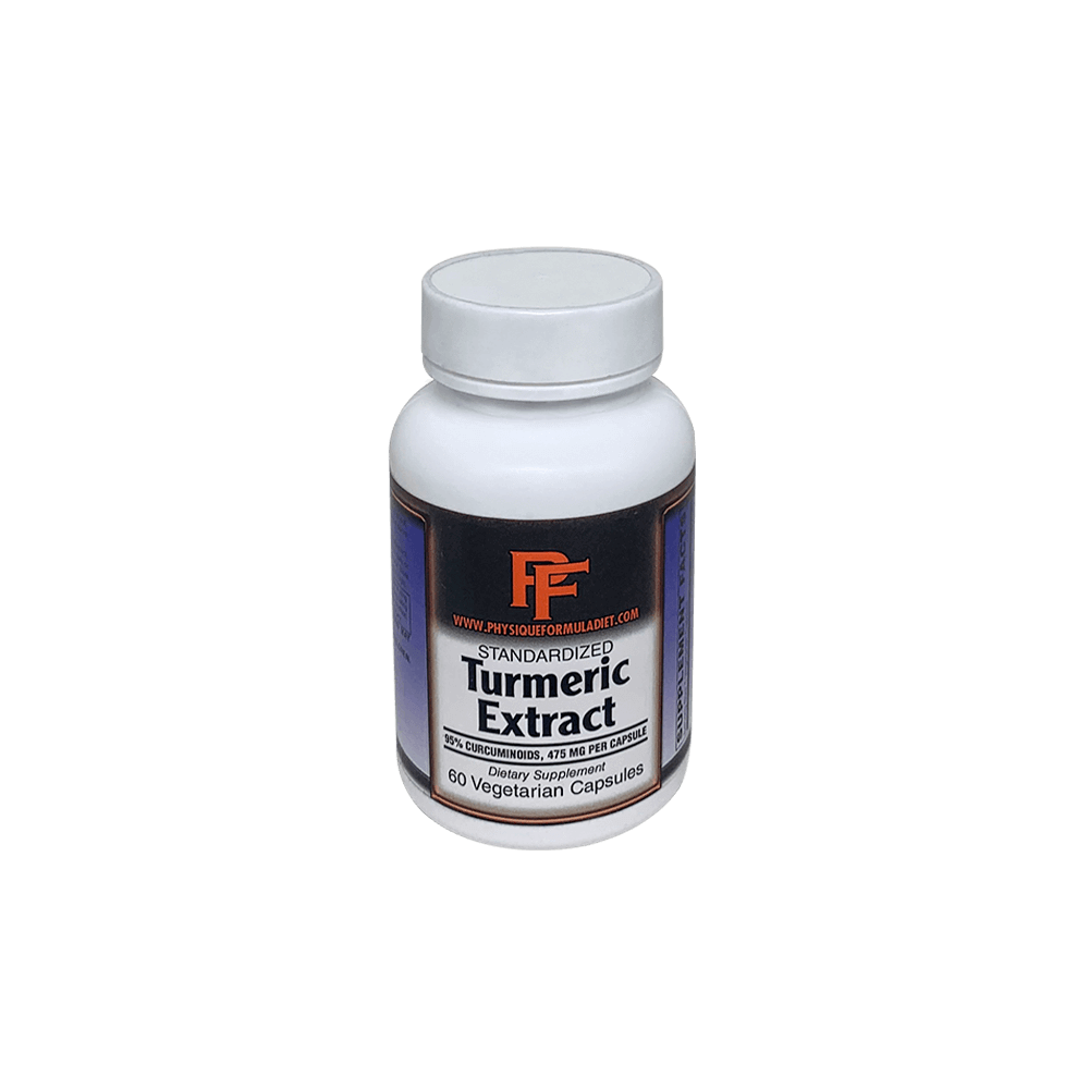Turmeric Curcumin C3 Complex: with 95% Curcuminoids for Cardiovascular Support & Healthy Joints with Advanced Absorption. Turmeric Curcumin Capsules - Physique Formula