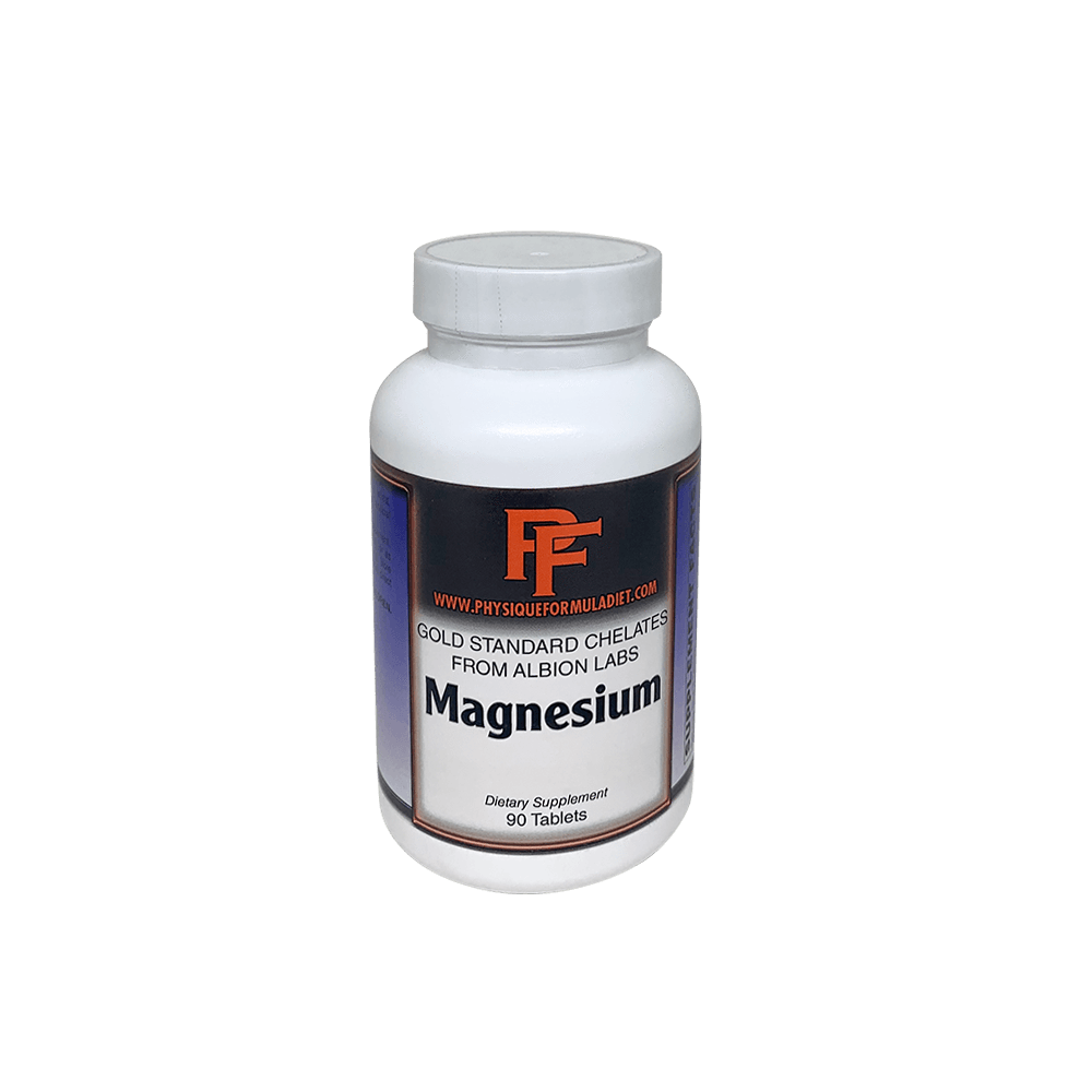 Physique Formula Magnesium Glycinate Chelated With Albion Better Than Oxide,Taurate, Citrate - Physique Formula