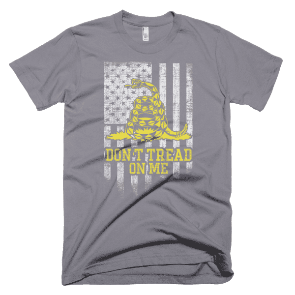 Don't Tread On Me Classic Fit Short sleeve men's t-shirt - Physique Formula