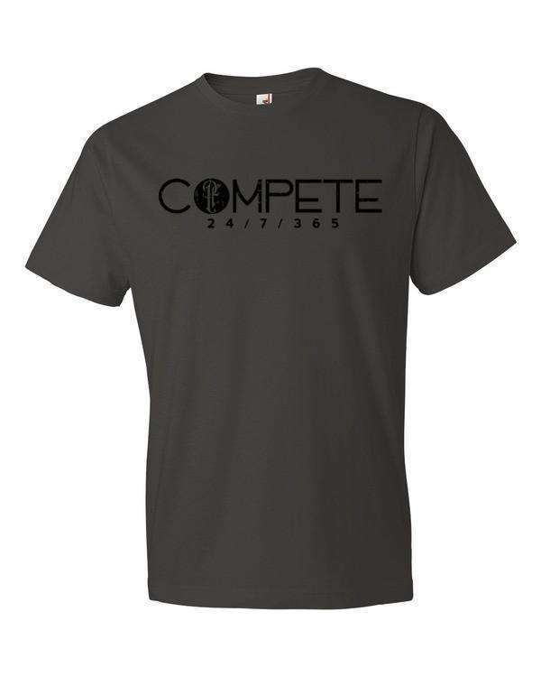 Compete 24/7/365 T-Shirt- Comfort Guaranteed! - Physique Formula