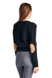 Women's Cable Knit Button Down Cardigan-Gcoco Online Store