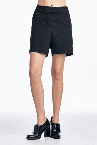 Women's Black Shorts-Gcoco Online Store