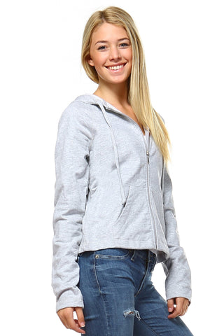 Women's Zip Up Sweater-Gcoco Online Store