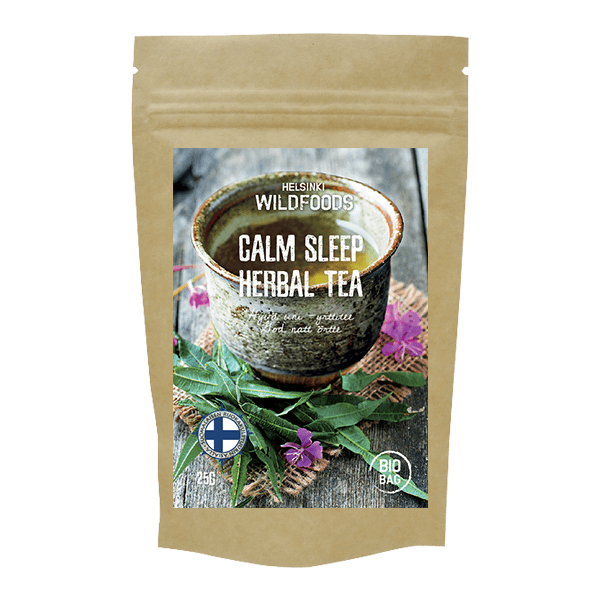 Picture of Helsinki Wildfoods Calm Sleep Herbal Tea product, Hyvä uni -yrttiee