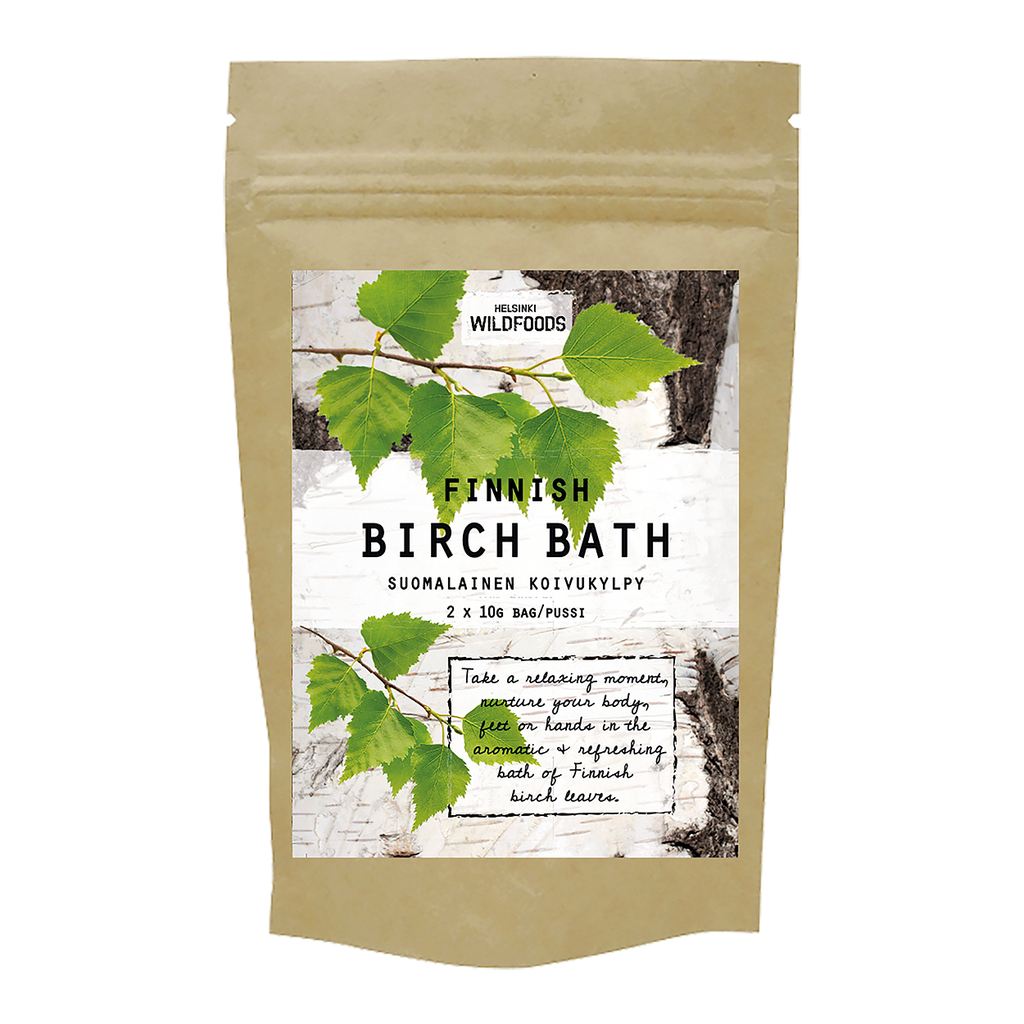 Finnish Birch Bath / Suomalainen koivukylpy 2x10g bag
