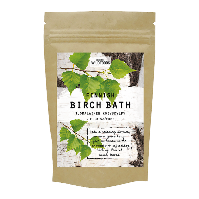 picture of Helsinki Wildfoods' Finnish Birch Bath product