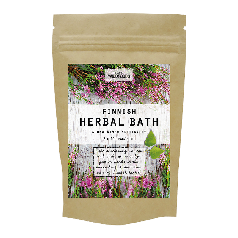 picture of Helsinki Wildfoods' Finnish Herbal Bath product