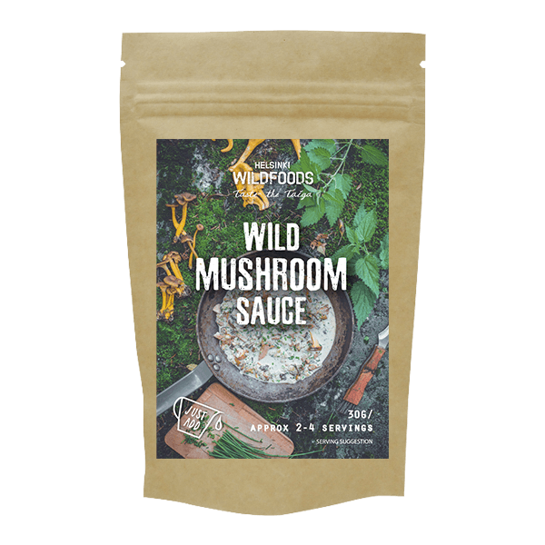 Picture of Helsinki Wildfoods' 'Just Add' Wild Mushroom Sauce product