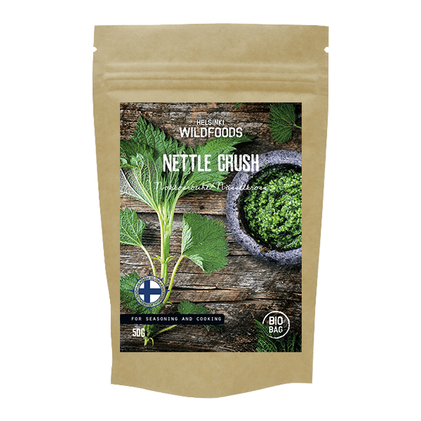 picture of Helsinki Wildfoods' Nettle Crush product, Nokkosrouhe