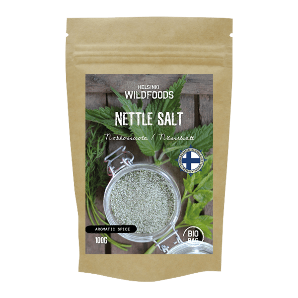 Picture of Helsinki Wildfoods Nettle Salt product, Nokkossuola