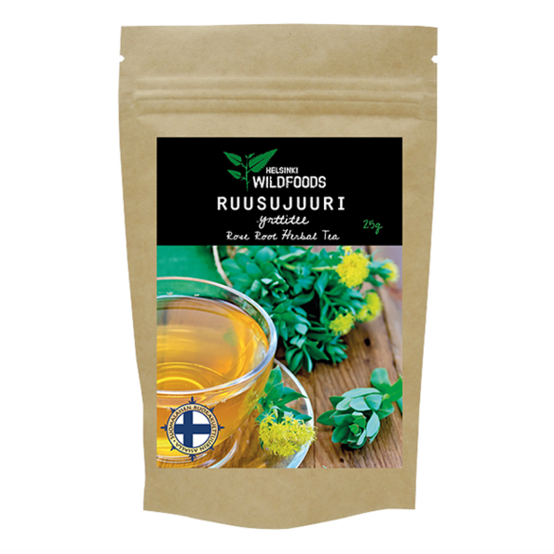 Rose Root Herbal Tea / Ruusujuuriyrttitee 25g